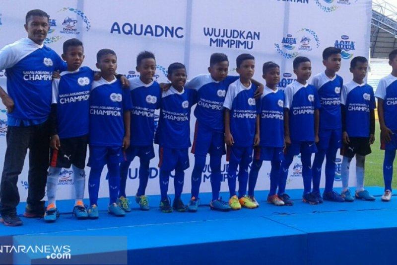 SSB Payakumbuh juara 3 Aqua Danone Cup 2019