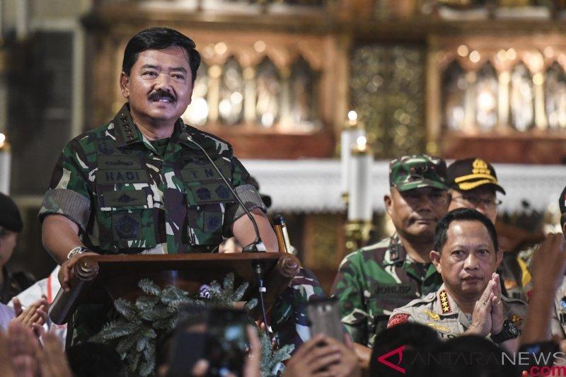 Panglima TNI dan Kapolri perintahkan tindak tegas korporasi terlibat Karhutla!