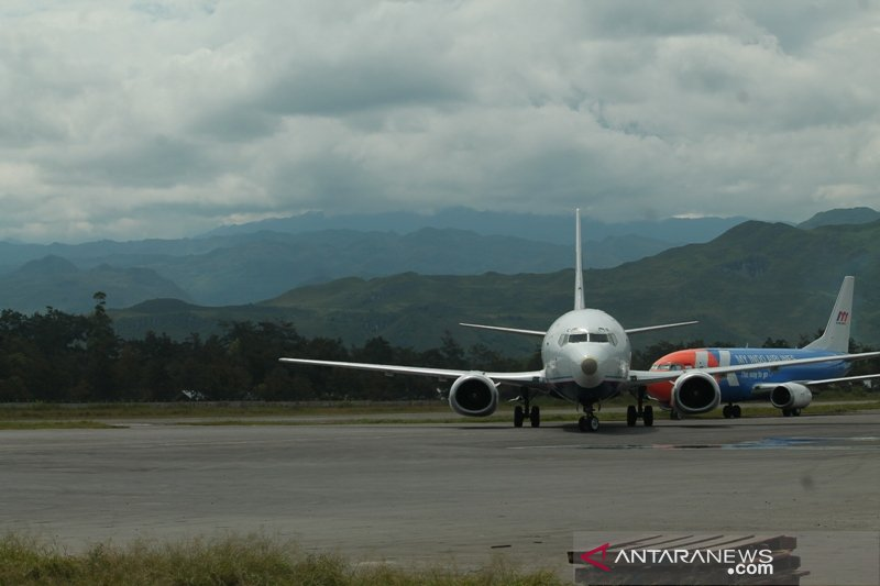 Pasien corona melonjak, Jayawijaya bakal kembali tutup Bandara Wamena