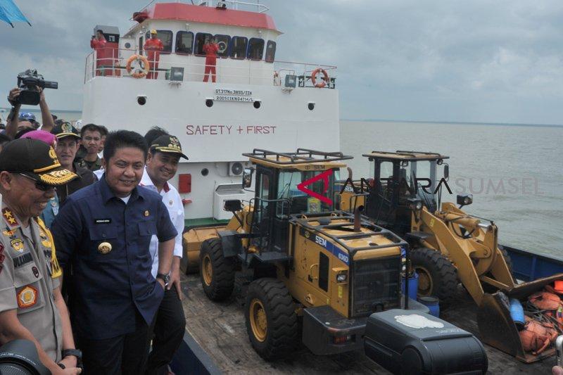Peresmian Pengoperasian Pelabuhan Laut Tanjung Api-Api