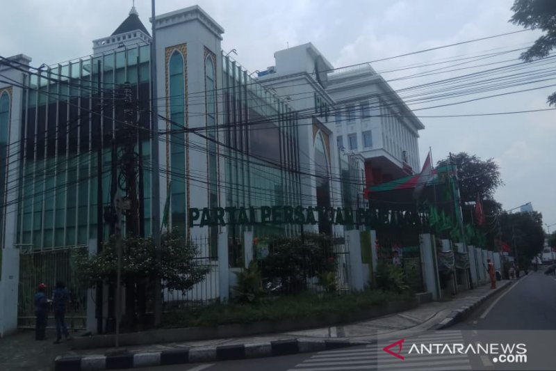 Kantor DPP PPP masih sepi setelah Rommy dikabarkan ditangkap