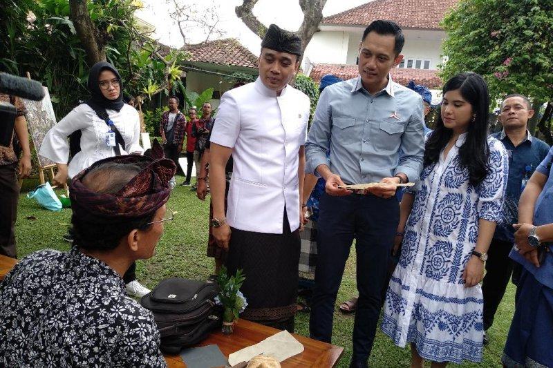 AHY berdialog dengan seniman dan generasi milenial di Bali
