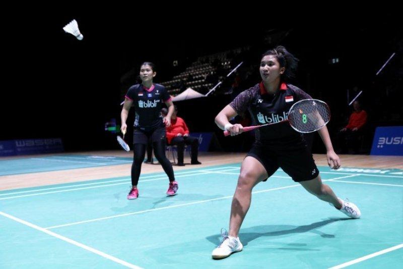 Dua ganda putri Indonesia gagal melaju ke perempat final