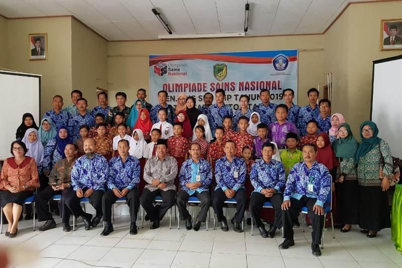 4 murid SD di Barito Utara ikuti OSN Kalteng