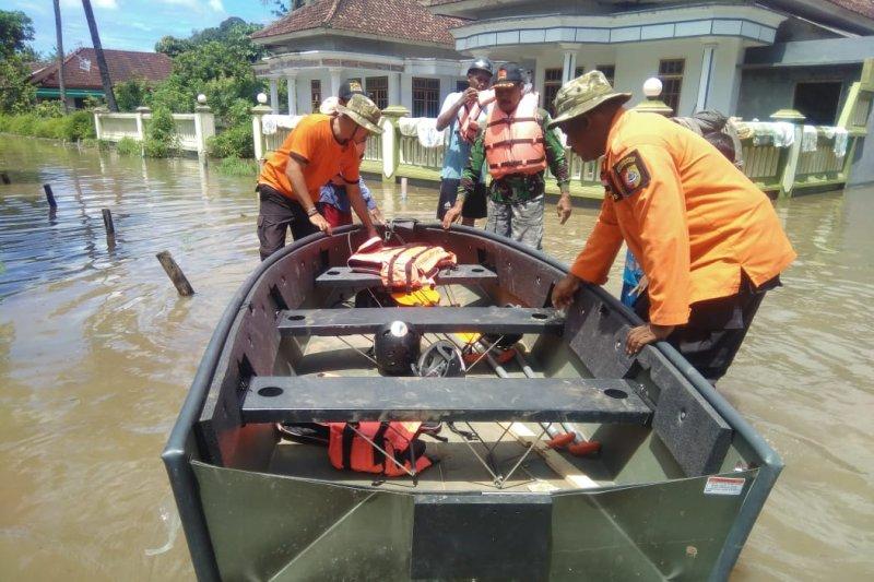 Ratusan rumah warga di Wonoasri Jember terendam banjir