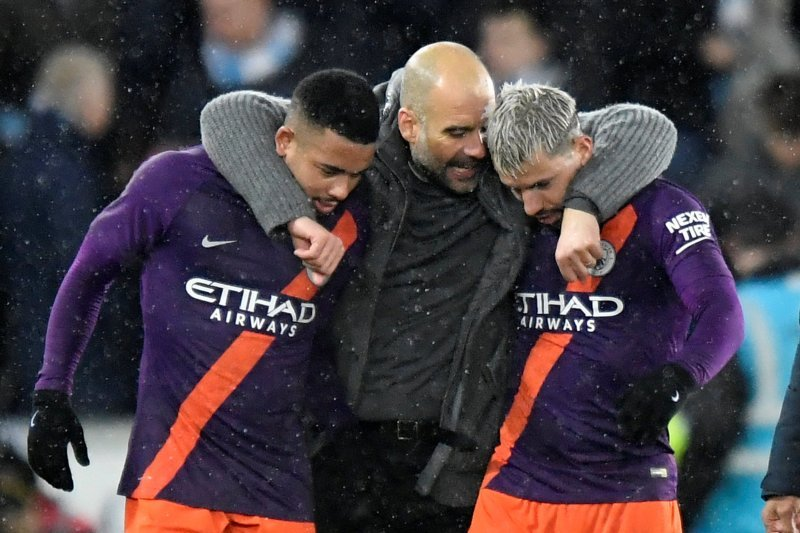 Pep Guardiola harap pemain City tidak cedera saat jeda internasional
