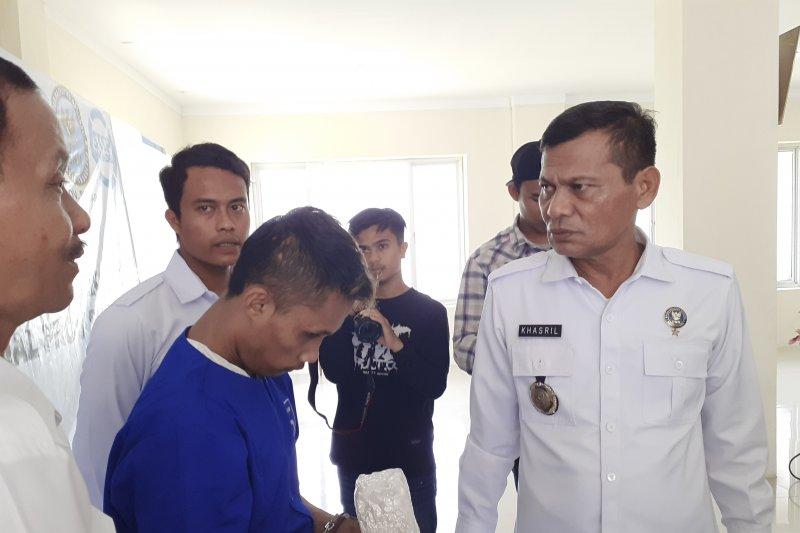 BNNP Sumbar tangkap dua pengedar bawa satu kilogram sabu