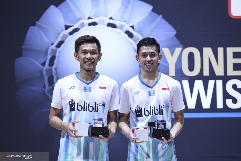 """Fajar-Rian tantang  """"Minnions"""" di perempat final Singapura Open"""