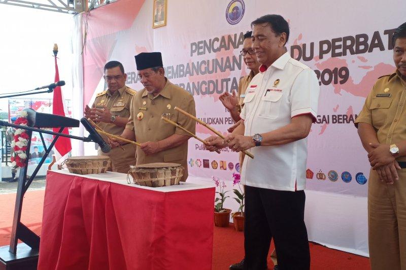 Wiranto canangkan Gerbangdutas di Morotai