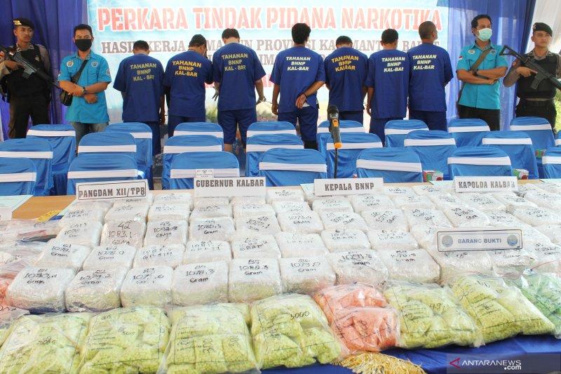 BNN berhasil amankan 20kg sabu dari jaringan Malaysia