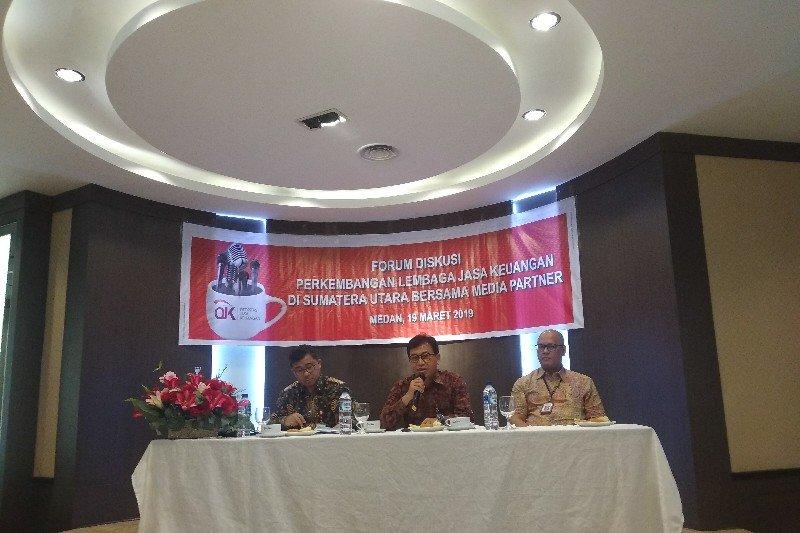 OJK sudah hentikan operasional dua investasi ilegal di Medan