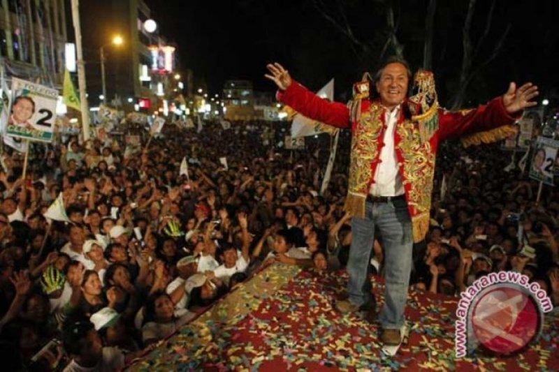 Mantan Presiden Peru Alejandro Toledo ditangkap di AS