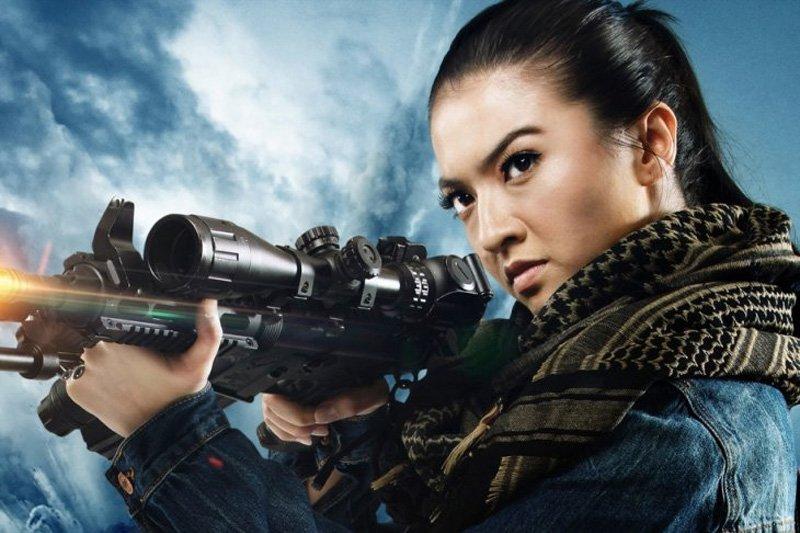 """""""Police Evo"""", Film laga pertama Raline Shah tayang April 2019"""
