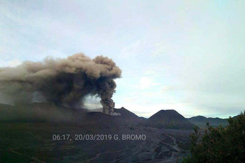 PVMBG: Suara gemuruh terdengar dari kawah Gunung Bromo