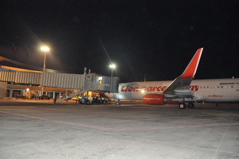 Baru satu garbarata yang bisa digunakan di Bandara Tjilik Riwut Palangka Raya