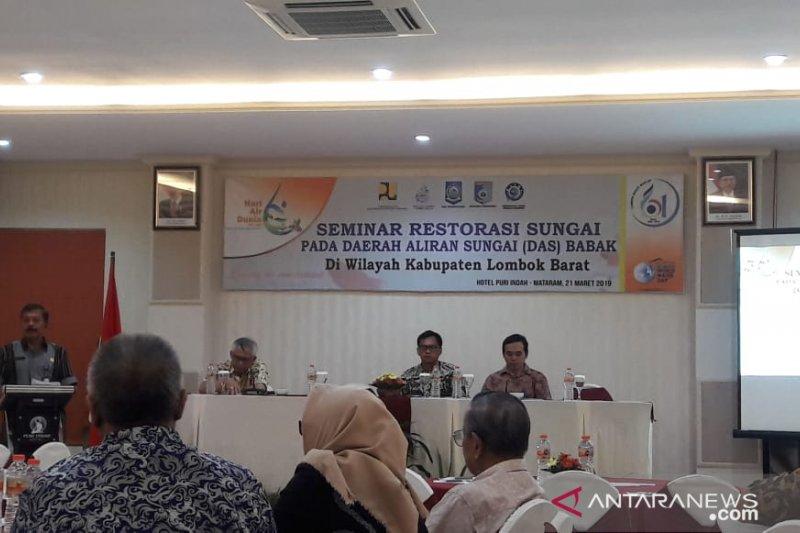 Restorasi Sungai Babak di Lombok-NTB yang kritis difasilitasi BWS