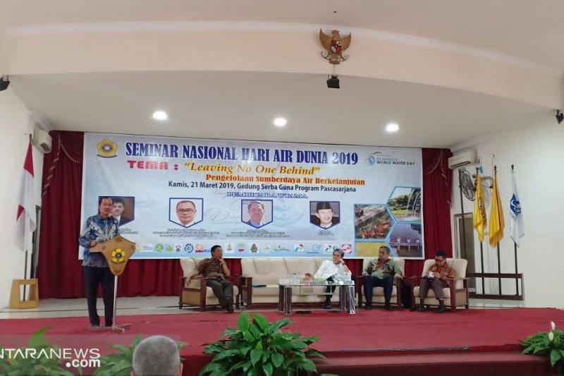 Kurang seabad, Kota Palembang kehilangan 221 anak sungai