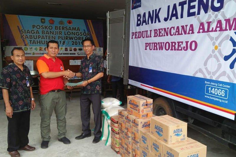 Bank Jateng bantu korban banjir Purworejo
