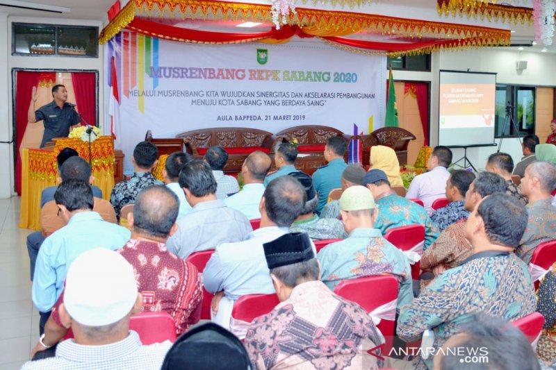 Pariwisata dijadikan basis pembangunan infrastruktur di Sabang-Aceh