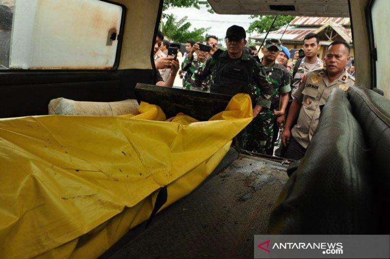 Tiga jenazah terduga teroris Poso dievakuasi ke Palu