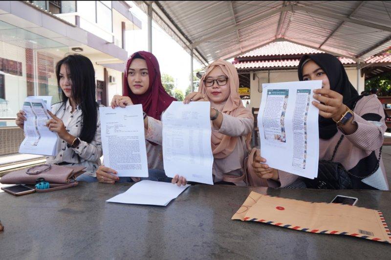 Belasan Ibu Muda Adukan Investasi Bodong ke Mapolres Trenggalek