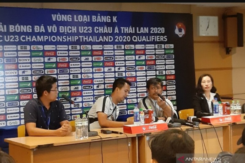 Indra Sjafri akui timnas U-23 tak bisa keluar dari tekanan Thailand