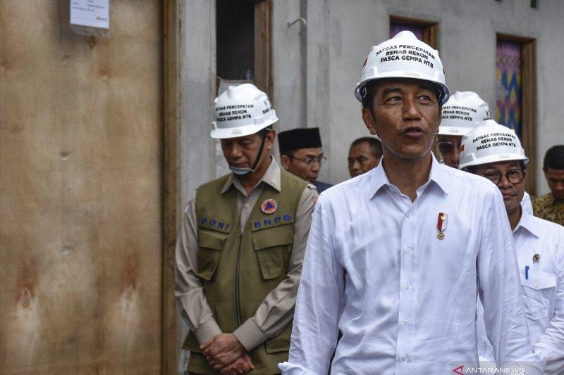 Progres rehabilitasi dan rekonstruksi pascagempa Lombok