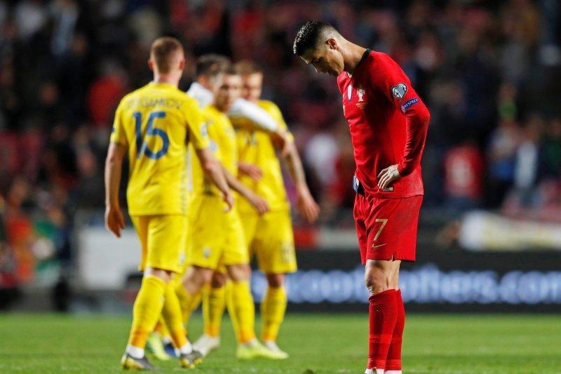 Portugal ditahan imbang Ukraina 0-0