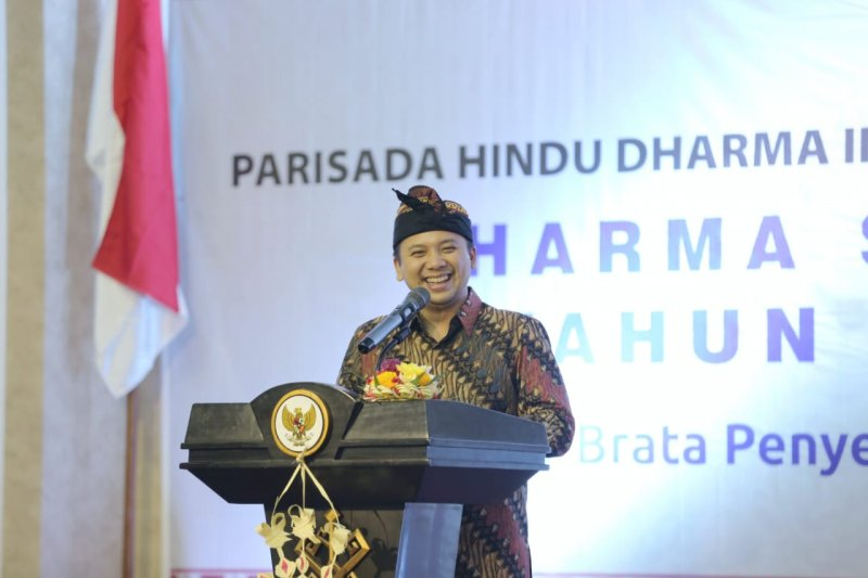 Gubernur Lampung Hadiri Dharma Santi Nyepi
