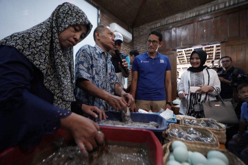 Sandiaga Uno sosialisasikan Rumah Siap Kerja di Sleman
