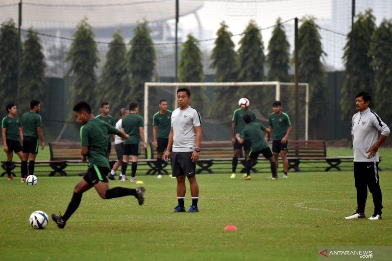 Indra Sjafri rotasi kiper hingga gelandang timnas U-23