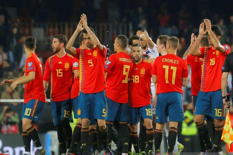 Spanyol taklukkan Norwegia 2-1