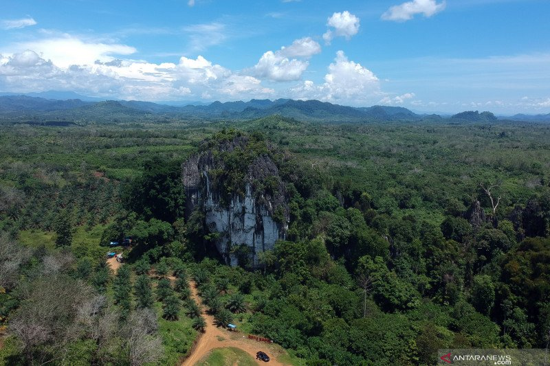 Solok Selatan proposes internet installation in these two tourist destinations