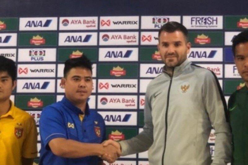 Debut Mcmenemy di skuat garuda berujung kemenangan 2-0 atas Myanmar