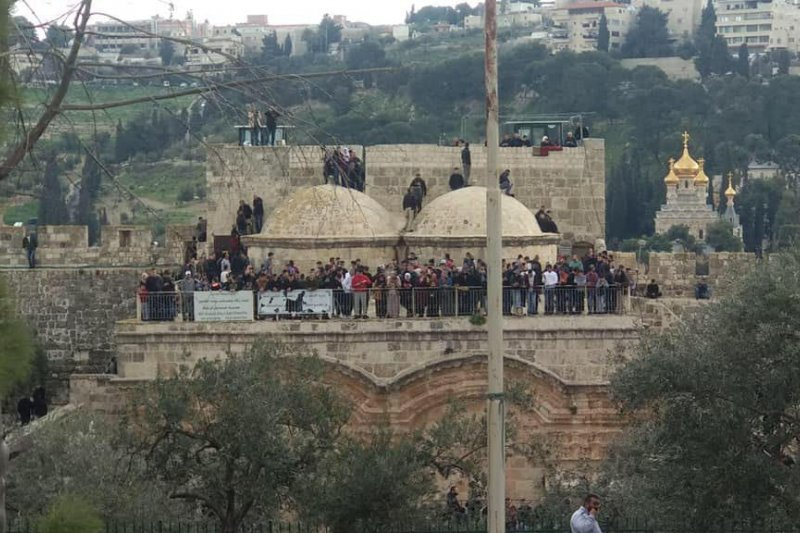 Polisi Israel tahan perempuan Palestina