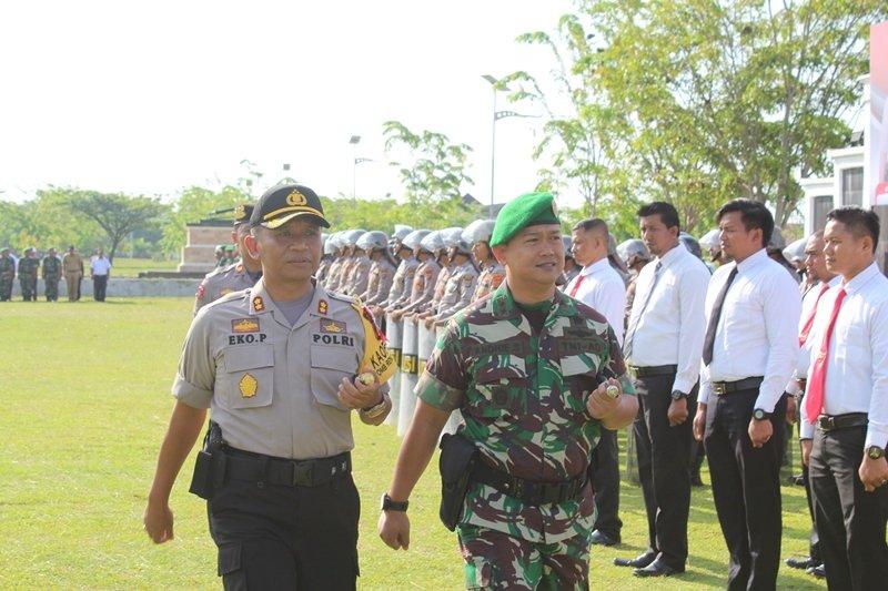 Polda Aceh Tambah 20 BKO ke Polres Aceh Jaya