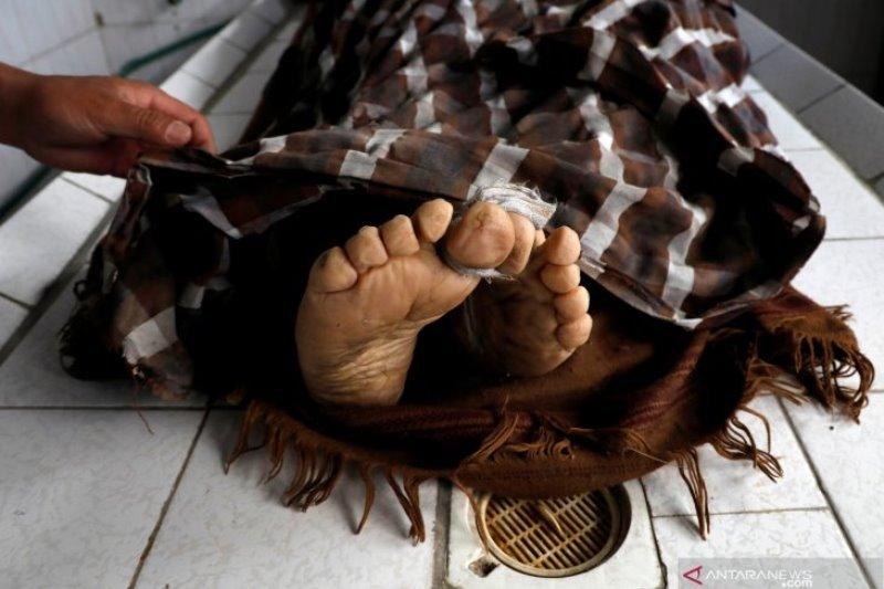 Seorang mantan caleg ditemukan tewas di kolam pembibitan ikan nila