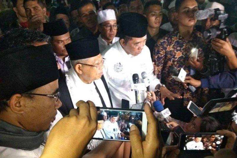 Jokowi pilih Ma'ruf hargai putra Banten