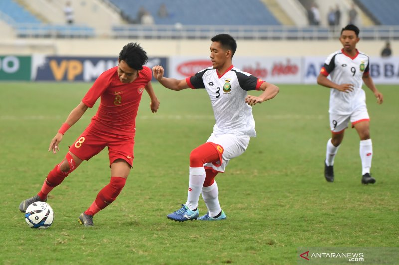 Dimas Drajad-Rafi cetak gol. Indonesia taklukkan Brunei 2-1