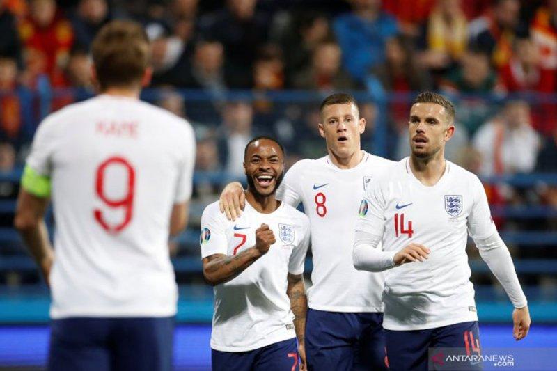 Inggris kembali jaya, hajar Montenegro 5-1