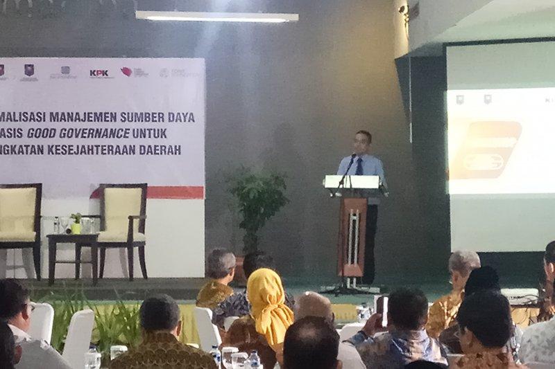 Bupati Sinjai hadiri workshop Optimalisasi Manajemen Sumber Daya Berbasis Good Governance