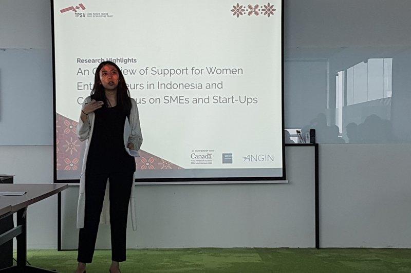 Studi: Kewirausahaan perempuan Indonesia tertinggal dari Kanada