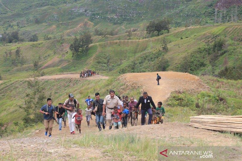 Dana Alokasi Kampung disepakati membuka jalan di Jayawijaya-Papua