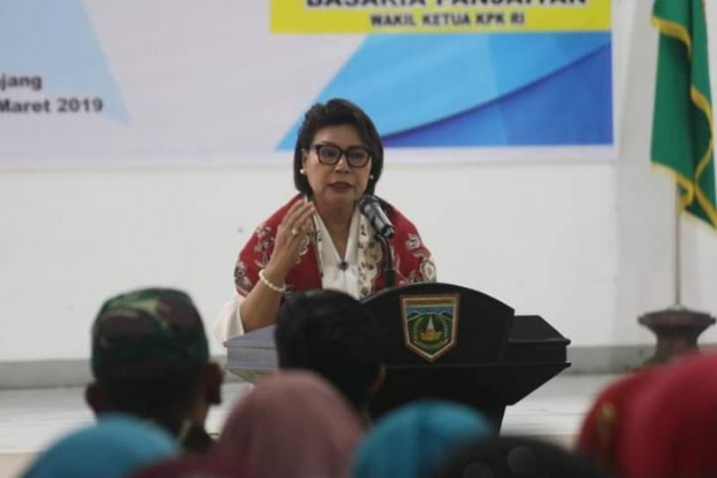 KPK sosialisasikan program 'Saya Perempuan Anti Korupsi' di Padang Panjang