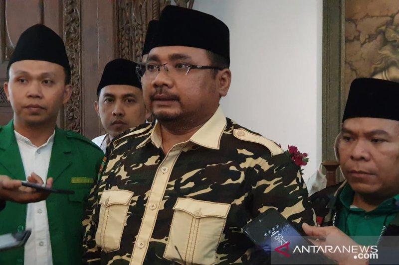 Ansor dukung upaya rekonsiliasi Jokowi dan Prabowo