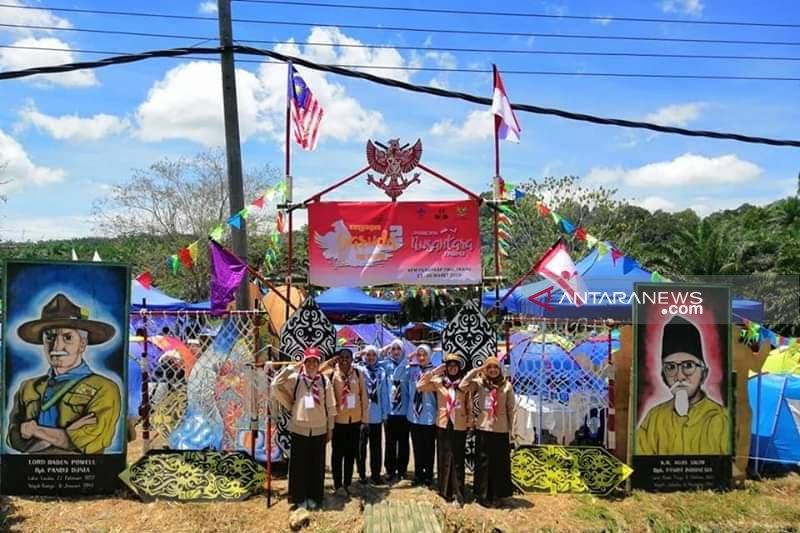 CLC anak TKI boyong puluhan piala Jambore Pramuka Nusantara Antarbangsa di Malaysia