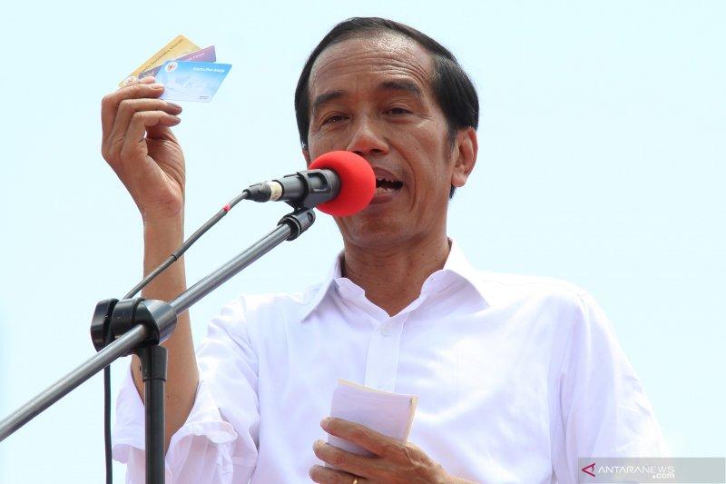 Kartu Pra Kerja bukan untuk gaji pengangguran, kata Jokowi