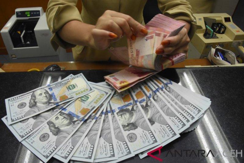 Rupiah Kamis sore menguat pascarilis data inflasi