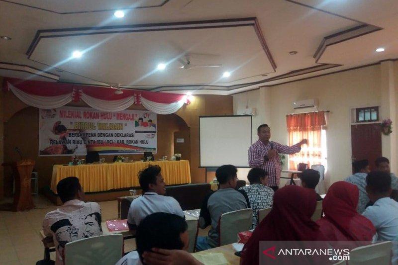 Relawan Cinta Ibu bakal dongkrak suara Jokowi di Rohul