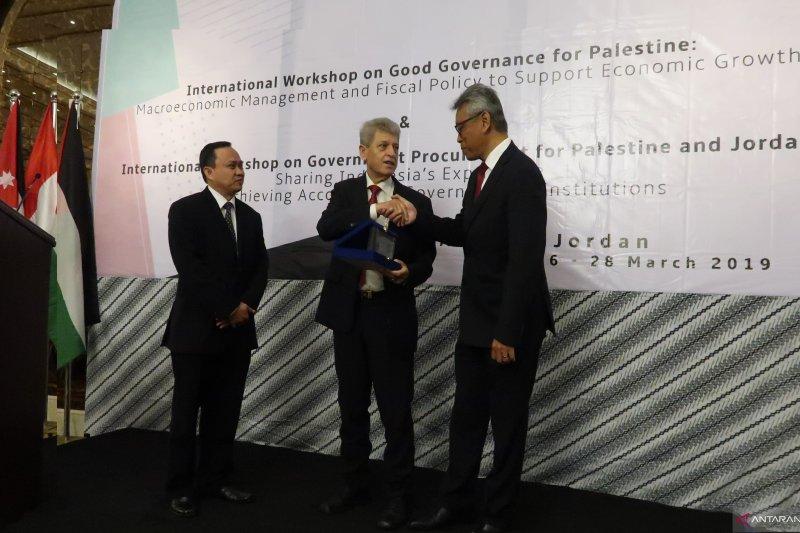 Palestina belajar cara tender, tata kelola pemerintahan dari Indonesia